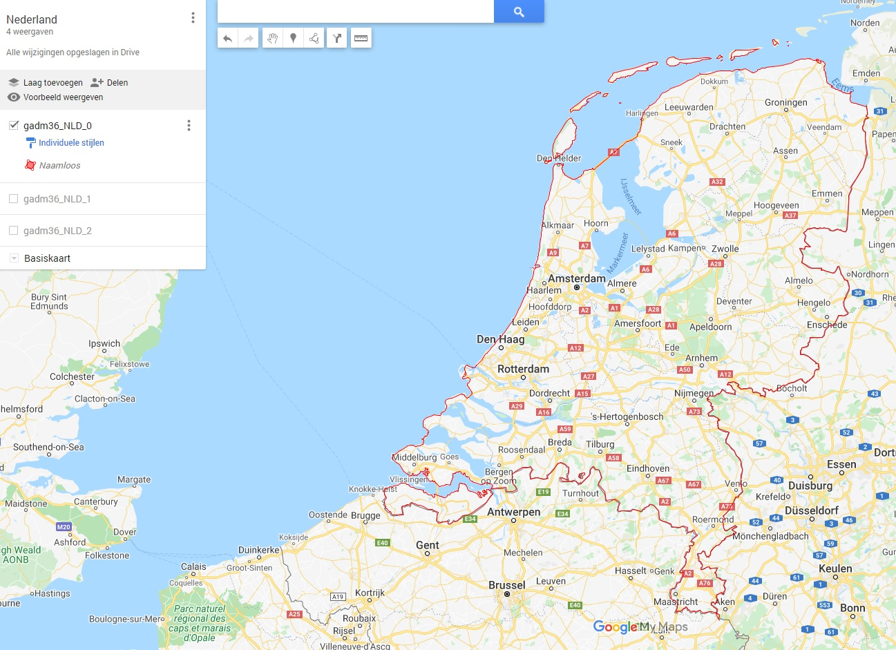 Nederland level 0