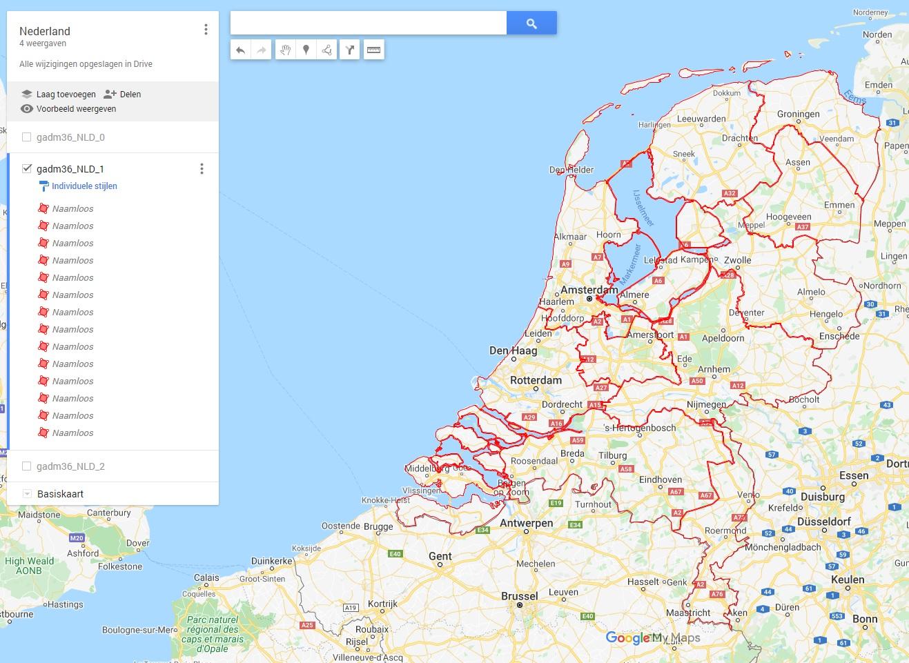Nederland level 1