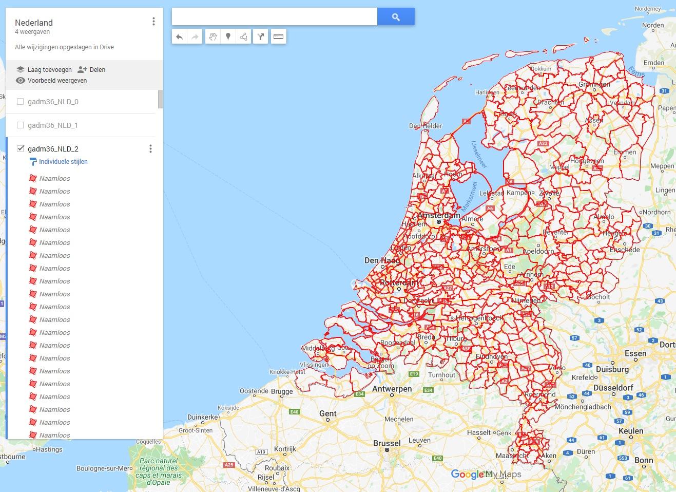 Nederland level 2